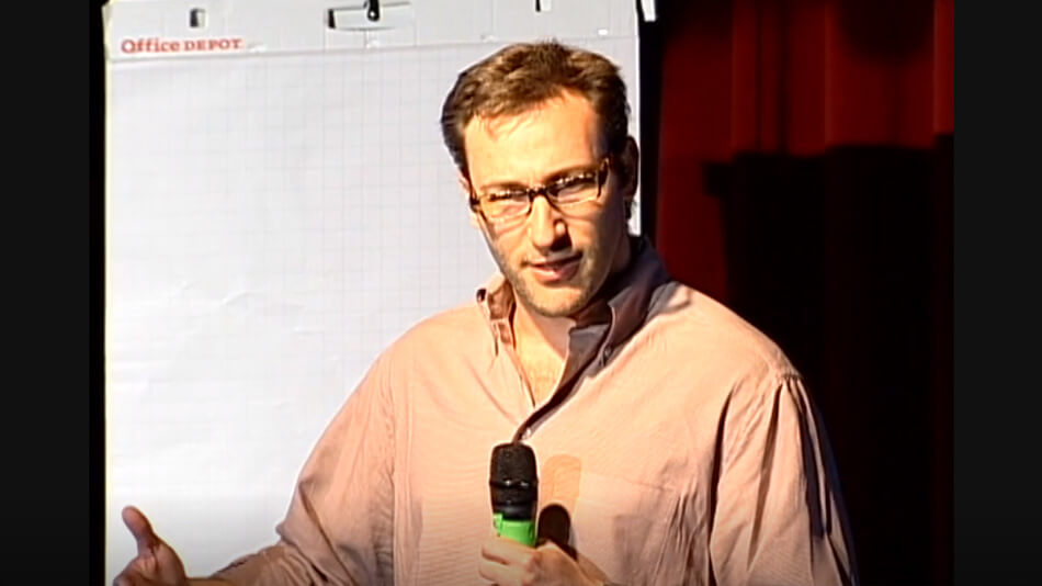 Why do movements take place? Simon Sinek explains why all changes occur from a clear understanding of why, not what or how.
