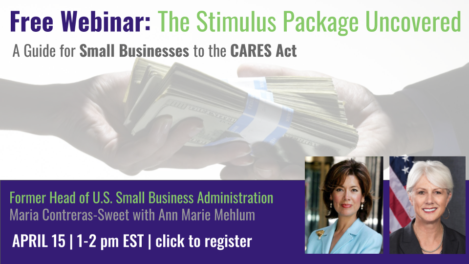 The Stimulus Package Uncovered Webinar Transcript